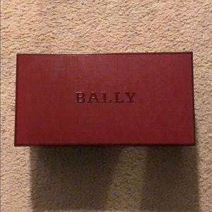 Bally shoe box